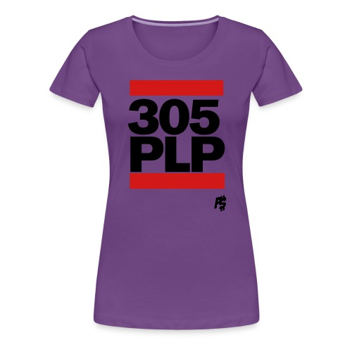 Black 305plp - Women's Premium T-Shirt