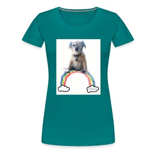 Chompo on the Rainbow Bridge - Women's Premium T-Shirt