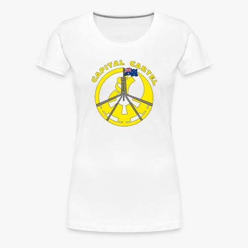 Cartel Yellow - Women's Premium T-Shirt