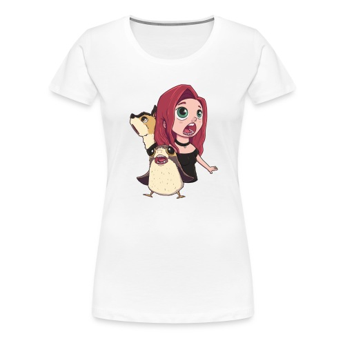 Dream Team Isolated Art - Women's Premium T-Shirt