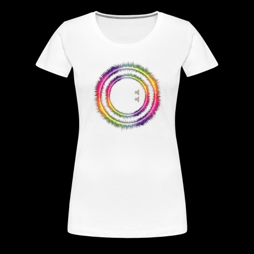 Music On, World Off! - Women's Premium T-Shirt