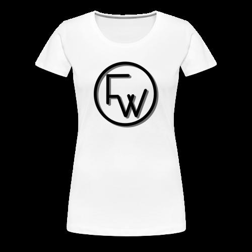 A Funny Wilson Production Black Logo - Women's Premium T-Shirt