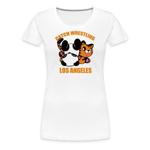 Catch Wrestling Los Angel - Women's Premium T-Shirt