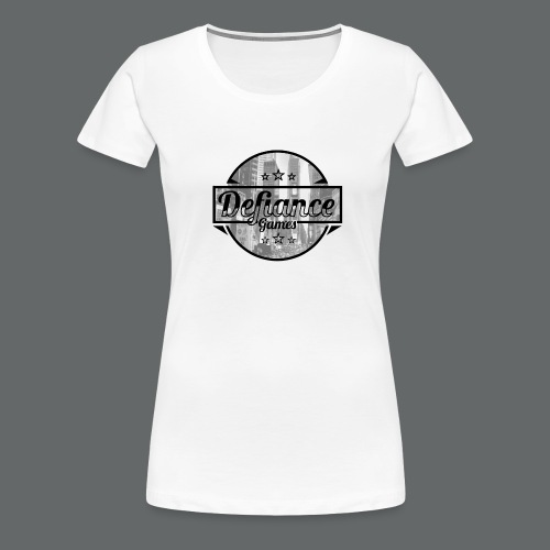 Defiance Games Street Logo Shirt - Women's Premium T-Shirt