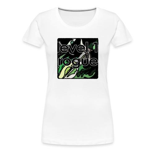Warcraft Baby: Level 1 Rogue - Women's Premium T-Shirt