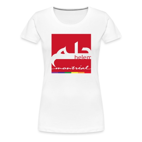 Helem Montreal Logo - Women's Premium T-Shirt