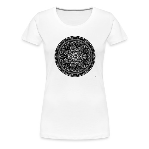 Circle No.2 - Women's Premium T-Shirt