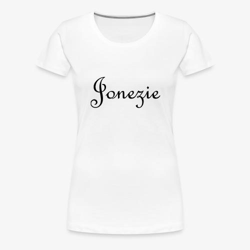 Jonezie Signature - T-Shirt - Women's Premium T-Shirt