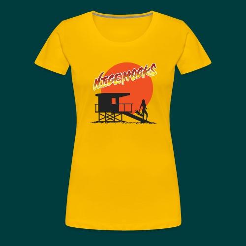 niceHocks - Women's Premium T-Shirt