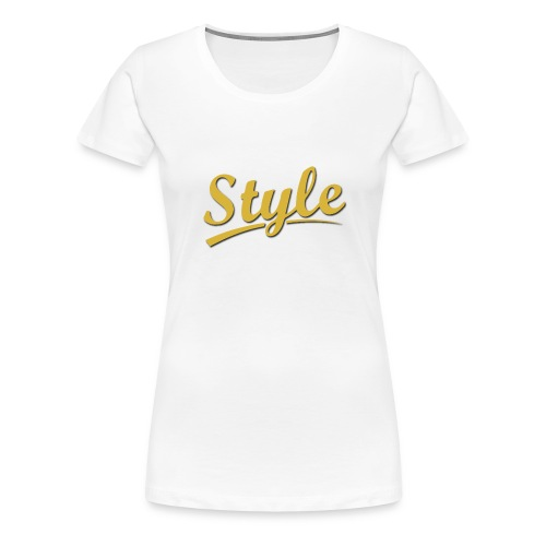 Step in style merchandise - Women's Premium T-Shirt