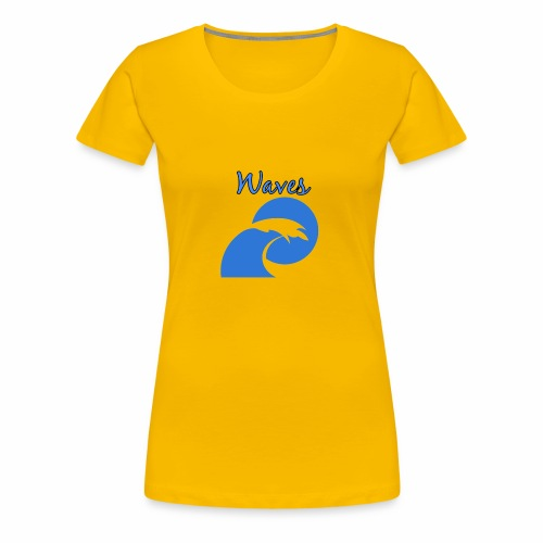 Waves - Women's Premium T-Shirt