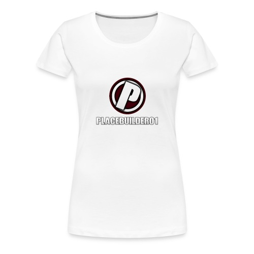 PlaceBuilder01 Merchandise Logo - Women's Premium T-Shirt