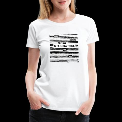 MELOGRAPHICS | Blackout Poem - Women's Premium T-Shirt