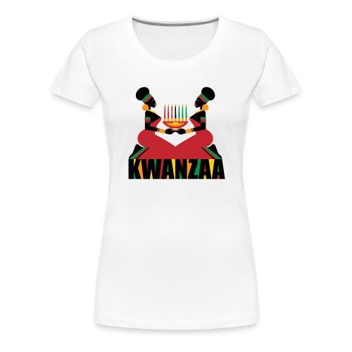 Kwanzaa - Women's Premium T-Shirt