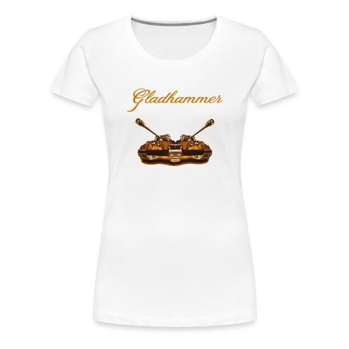 Gladhammer (Gold Tank) - Women's Premium T-Shirt