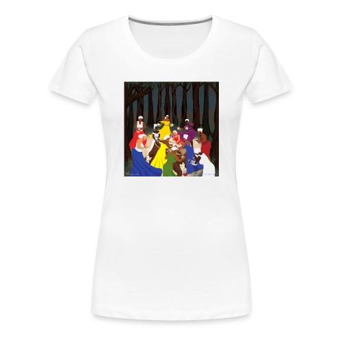 Etheric Touch Healing Ceremony - Women's Premium T-Shirt
