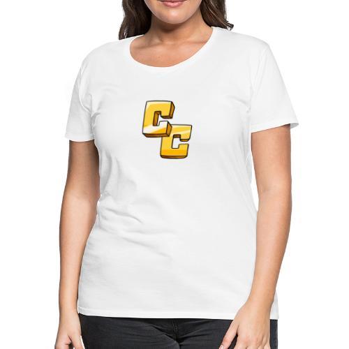 CapeCraft (CC) Logo - Women's Premium T-Shirt