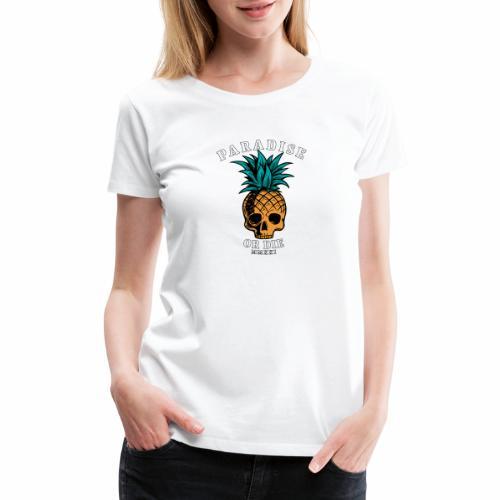 POD Pineapple - Women's Premium T-Shirt