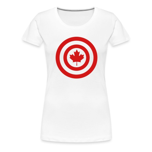 Captain Canada - Women's Premium T-Shirt