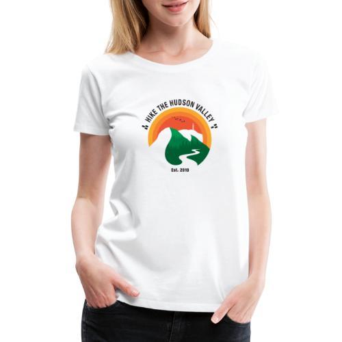 Hike The Hudson Valley (White/light bkgrnd) - Women's Premium T-Shirt