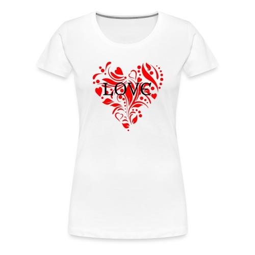 loveheArt - Women's Premium T-Shirt