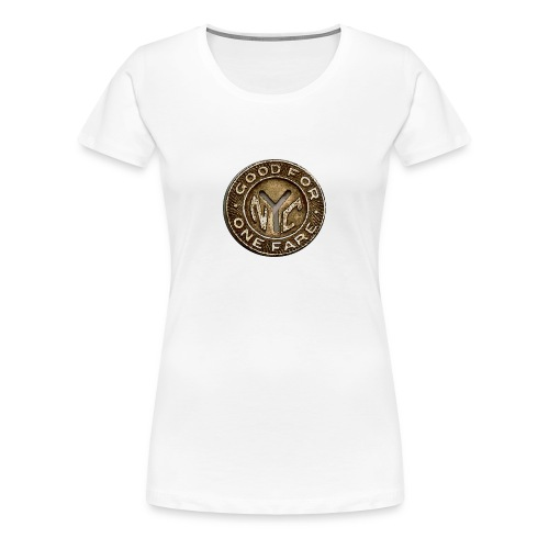 NYC Token - Women's Premium T-Shirt