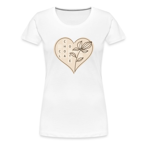Chocolate Love - Women's Premium T-Shirt