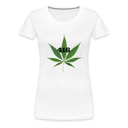 Toronto marijuana - Women's Premium T-Shirt