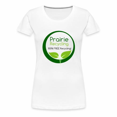 Prairie Recycling Official Logo - Women's Premium T-Shirt