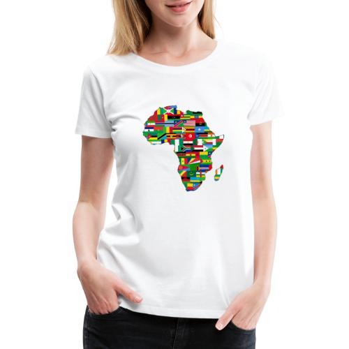 Motherland Africa - Women's Premium T-Shirt