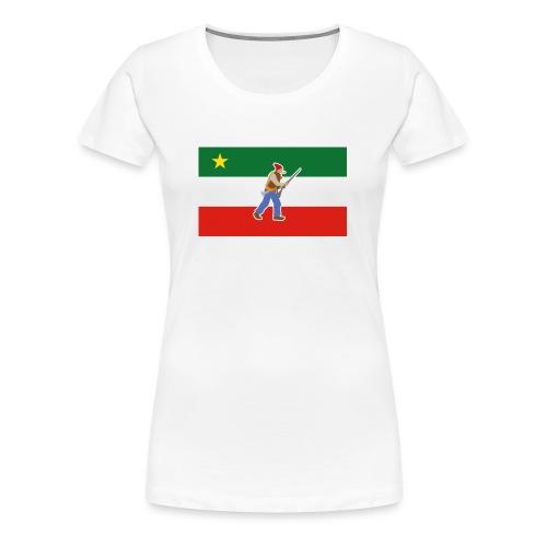 Vest of the Patriots - Women's Premium T-Shirt