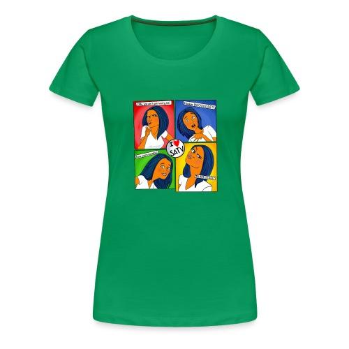 faces - Women's Premium T-Shirt