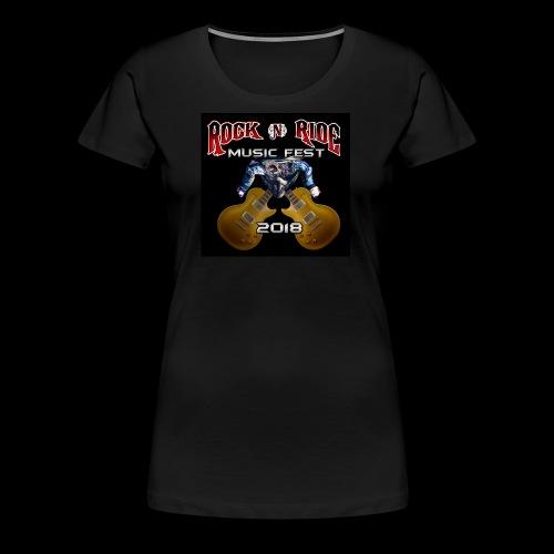 RocknRide Design - Women's Premium T-Shirt