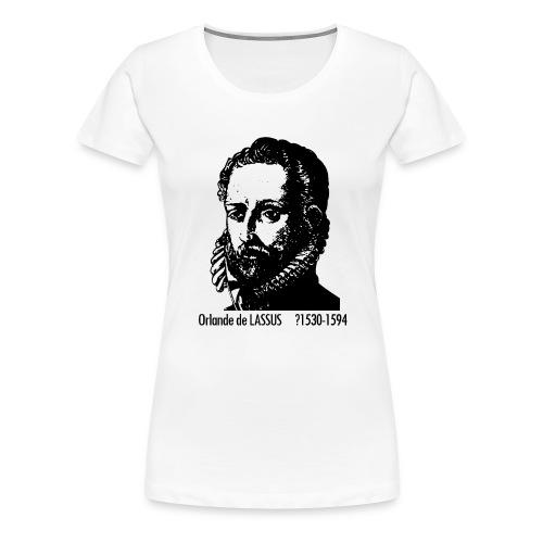 Lassus Portrait - Women's Premium T-Shirt