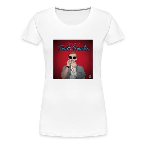 Fruit Snacks Album Cover - Women's Premium T-Shirt