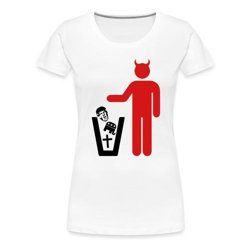 American Satanist - Women's Premium T-Shirt