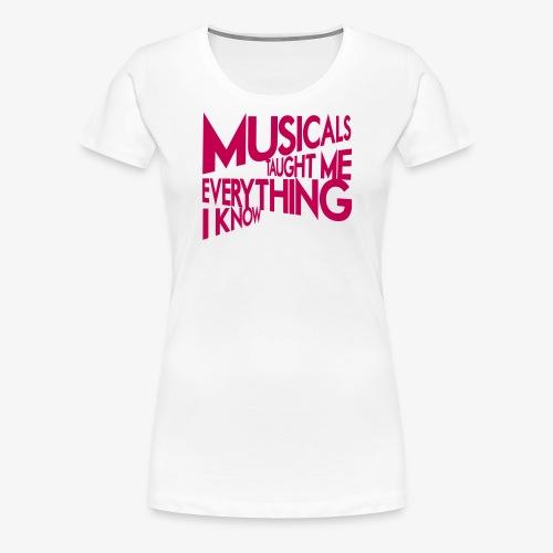 MTMEIK Pink Logo - Women's Premium T-Shirt