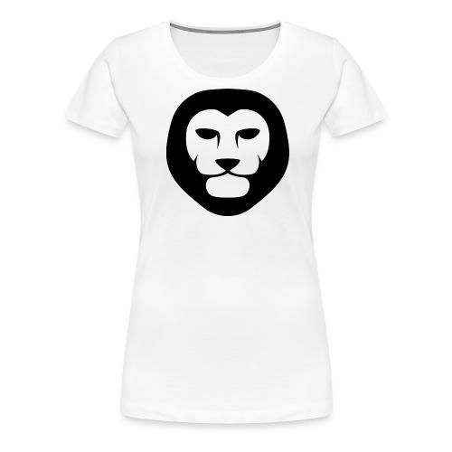 IndieLion Logo black png - Women's Premium T-Shirt