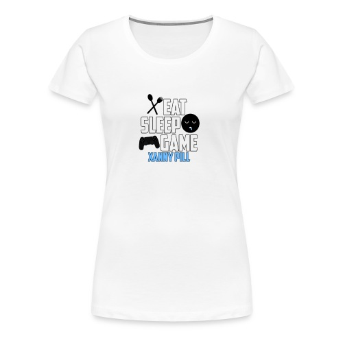 EAT SLEEP GAME - Women's Premium T-Shirt