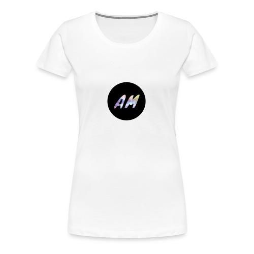AM logo - Women's Premium T-Shirt