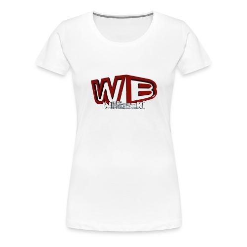 wb logo3d png - Women's Premium T-Shirt
