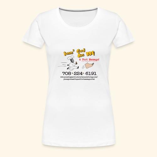 Jones Good Ass BBQ and Foot Massage logo - Women's Premium T-Shirt