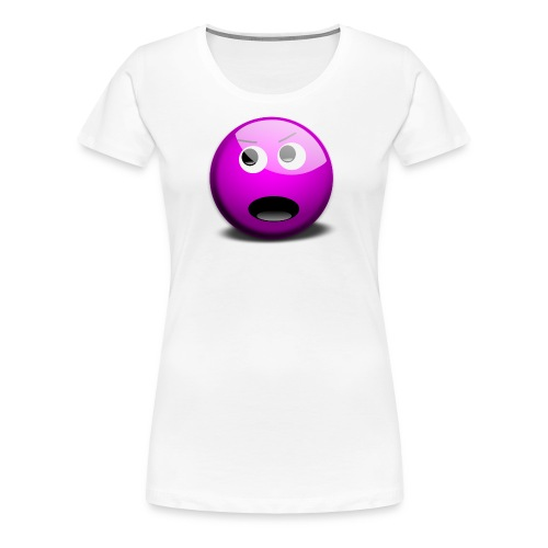 Not grumpy. Forgot to wear a smile today. - Women's Premium T-Shirt