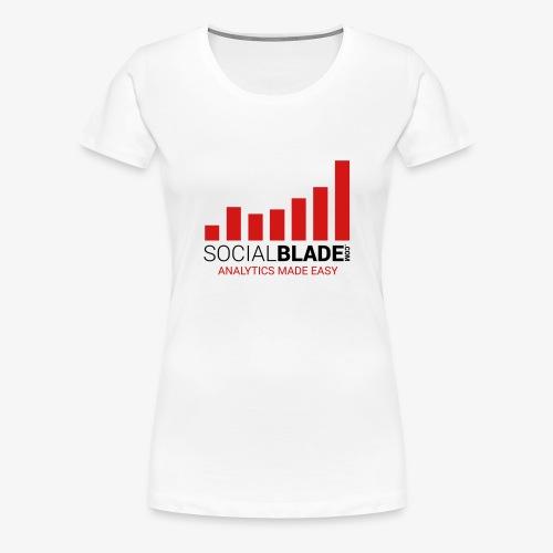 Social blade (R6) - Women's Premium T-Shirt