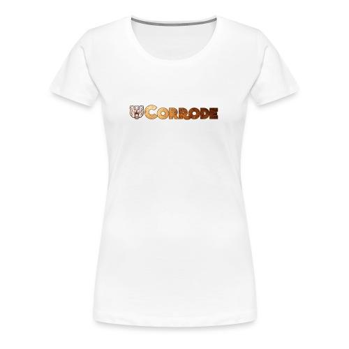 corrode - Women's Premium T-Shirt