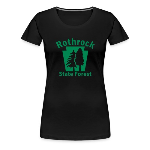 Rothrock State Forest Keystone (w/trees) - Women's Premium T-Shirt