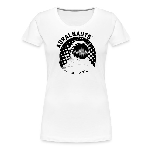 Auralnauts Blk Text - Women's Premium T-Shirt