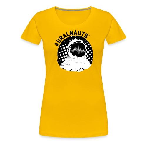 Auralnauts Blk Text - Women's Premium T-Shirt