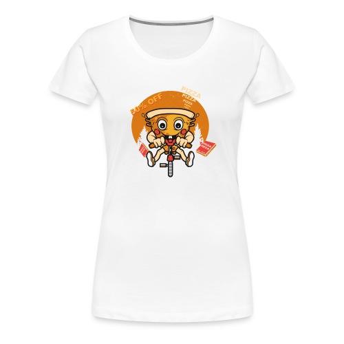 PIZZA 50 off - Women's Premium T-Shirt