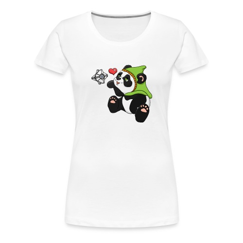 Destiny hunter panda - Women's Premium T-Shirt